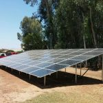 Solar Panels array in Central Valey