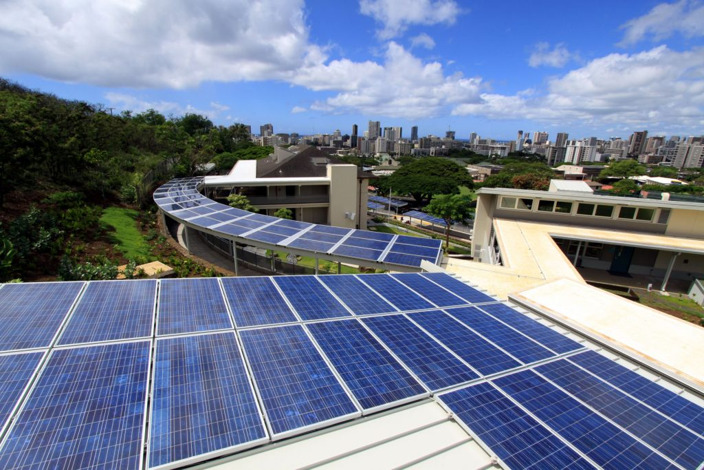 hawaii commercial solar install