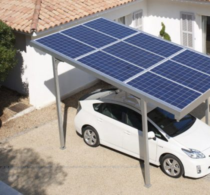 Purchasing Electric Vehicles with a Solar Home