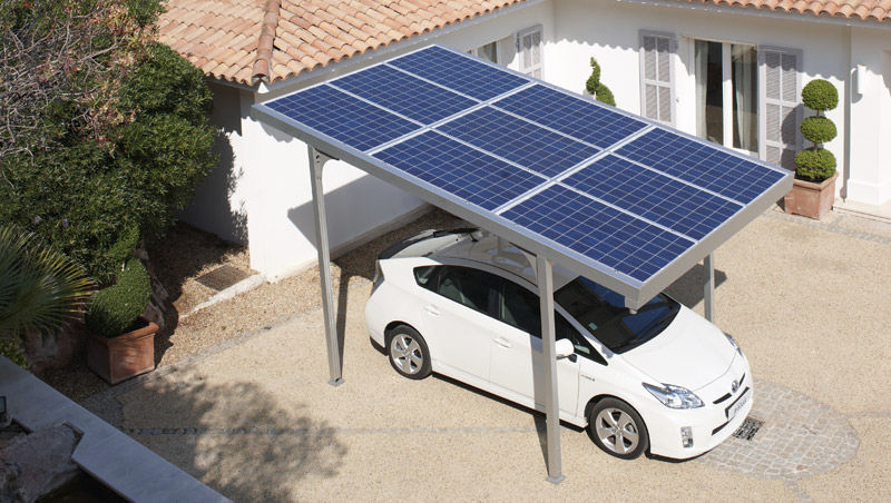 Power Your Electric Car with Solar