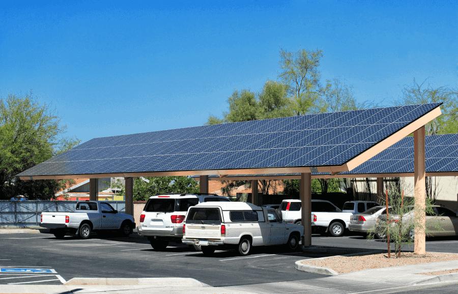 solar cartport